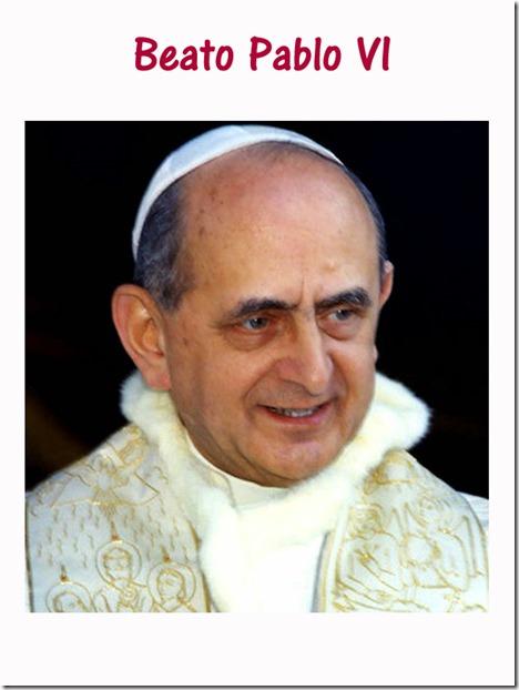 Afiche Pablo VI